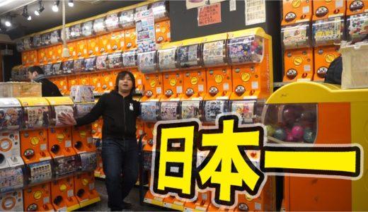 日本一ガチャがあるお店がマニアックで楽しすぎる!【500台!!】