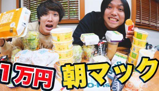 【大食い】朝マック1万円分食べ切ろうとしたら夜になったwww