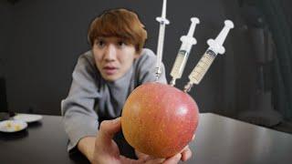 ドーピングしたリンゴを相方に内緒で食わせてみたwwww