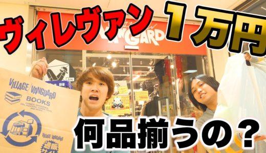 【1万円企画】俺らヴィレヴァンで1万円爆買いしたら何品同じものを買えるの?
