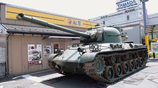 本物の戦車でドライブスルー行ってみたwww